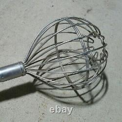LARGE JUMBO 4' Commercial Restaurant/Bakery Kitchen Mixing Bowl Hand Mixer Wisk