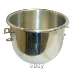 MIXING BOWL fits HOBART A-120, A-120T 20 QT Stainless Steel 321866