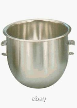 NEW 10 QT Mixing Bowl Stainless Steel Commercial Uniworld Mixer UPM-1B 8063
