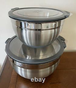 NEW PRINCESS HOUSE Culinario Series Mixing Bowls 5831 One Set