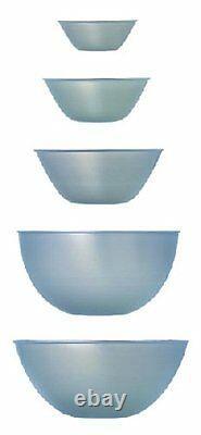 NEW Sori Yanagi Stainless Bowl 5pcs Set Space-saving design F/S from JAPAN