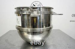 New Hobart Legacy 40 Qt Stainless Steel Mixing Bowl Model Hl40-40