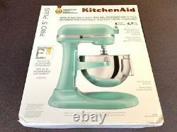 New KitchenAid KV25G0X Professional 5 Plus 5qt Stand Mixer Ice Blue