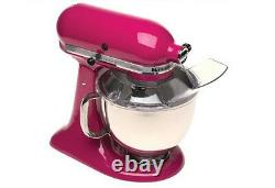 New KitchenAid Stand Mixer tilt 5-Quart ksm150pscb Cranberry Color Artisan