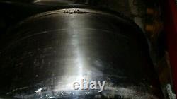 Nussex 120 Quart Stainless Steel Heavy Duty Mixer Bowl 36 x 12 N120HD-3D