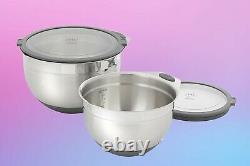Princess House Culinario Series Tools Mixing Bowl Set (2) (5831)