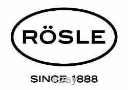 Rosle 3 Piece Stainless Steel Mixing/Prep Bowl Set, (1.7qt, 3.3qt, 5.7qt)