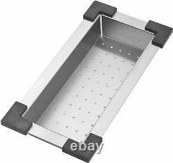 STARSTAR Workstation Top Mount/Drop-in Stainless Steel Single Bowl Kitchen Sink