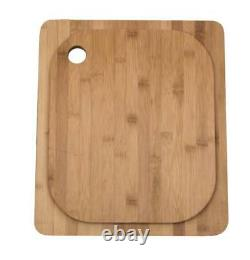 Single Bowl Stainless Steel Compact Inset Kitchen Sink & Chopping Board A11