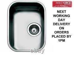 Smeg Alba (UM30) 1.0 Single Bowl Stainless Steel Undermount Sink Brand New