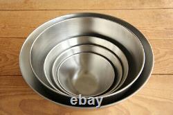 Sori Yanagi stainless bowl 5 pcs From Japan NEW