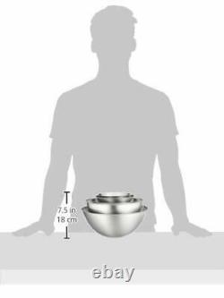 Sori Yanagi stainless bowl 5 pcs ST1157 4905689311057 shipping from Japan New