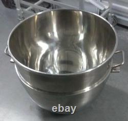 Stainless Steel 140 Quart Mixer Bowl