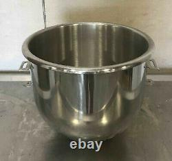 Stainless Steel 20 Qt Mixing Bowl mixer Commercial hobart a200 A-200-20
