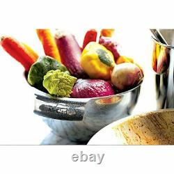 Stainless Steel Dishwasher Safe Mixing Bowls Set Kitchen Accessorie, 3-Piece