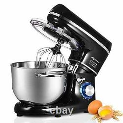 Stand Mixer, 6.5 L Stainless Steel Mixing Bowl, 6-Speed 1500W