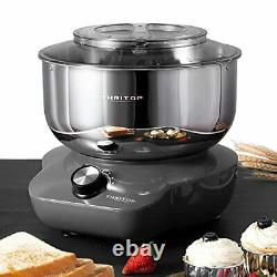 Stand Mixer, Food Mixer with 5QT Mixing Bowl for Bread and Dough 6 Speed