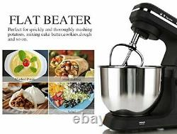 Stand Mixer MK36 500W 5 Qt 6 Speed Tilt Head Kitchen Food W Accessorie Black