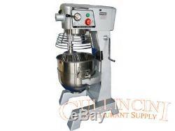Uniworld 30 Qt Mixer Stainless Steel Bowl commerical quart bakery dough