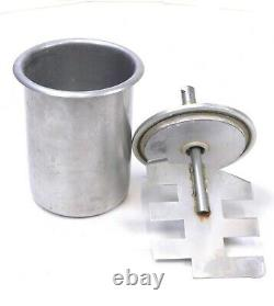 WHIP MIX Vac-U-Mixer Stainless Steel Bowls 7600 1200mL with Vac-U-Spat & Drive Nut