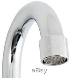 18 X 18 X 14 Avec Robinet Utilitaire Commercial En Acier Inoxydable Sink Bowl Mop Préparation