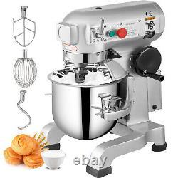 20qt 1hp Electric Food Stand Mixer Dough Mixer 20l Bowl Cake Pro Électrique 20l