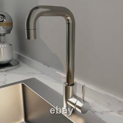 24x18 Évier De Cuisine En Acier Inoxydable 8 Deep Single Bowl Drop In Withfaucet