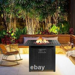 30 Foyer Au Gaz Propane Avec Couvercle De Table Étanche Auto-allumage 50 000 Btu