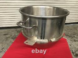 30 Qt Bol En Acier Inoxydable Pour 60 Qt Mixer Hobart Nsf #7669 Accessoire Commercial