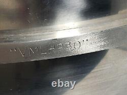 30 Qt Bol En Acier Inoxydable Pour 60 Qt Mixer Hobart Vmlhp30 Accessoire Commercial