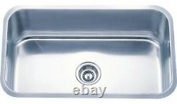 30 X 18 X 9 Acier Inoxydable Profond 18g Undermount Single Bowl Kitchen Sink