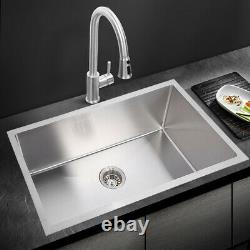 30 X 18 X 9 Deep Mount Drop In Stainless Steel Single Bowl Kitchen Sink 30 X 18 X 9 Deep Mount Drop In Stainless Steel Single Bowl Kitchen Sink 30 X 18 X 9 Deep Mount Drop In Stainless Steel Single Bowl Kitchen Sink 3
