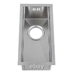 440 X 220mm 0.5 Half-bowl Handmade Stainless Steel Undermount Kitchen Sink Ds004