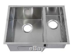 585 X 440mm 1,5 Bowl Main En Acier Inoxydable Undermount Évier De Cuisine (ds009l)
