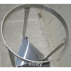 80-qt-mixing-bowl Mobile Dolly Stand Pour Vollrath Bowl
