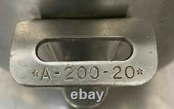 A-200-20 Acier Inoxydable 20 Qt Mélangeur De Bols Hookart Commercial A200