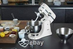Aeg Km4100 Robot De La Cuisine Avec Mélangeur De Bols À Broches Multiples 1000 W