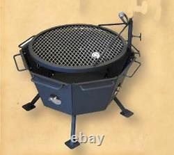 Backyard Fire Pit Outdoor Cooking Stainless Steel All-in-one Wilderness Survival