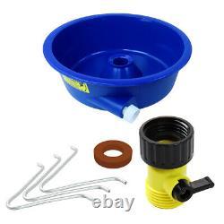 Blue Bowl Concentrateator Deluxe Gold Kit Avec Pompe, Jambières Et 4 Classificateurs