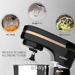 Bn Electric Food Stand Mixer 8 Vitesses 5-qt Tilt-head Bowl Stainless Steel Black