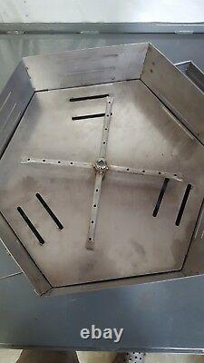 Bol Portatif En Acier Inoxydable De Foyer De Propane 16 Hexagone -fabriqué Aux Etats-unis