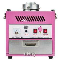 Carnaval Roi Ccm28 Coton Candy Machine 28 Bol En Acier Inoxydable Extérieur 110v