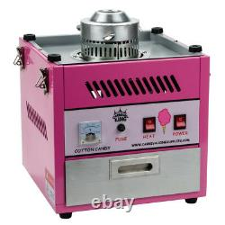 Carnival King Commercial Cotton Candy Machine Countertop Maker 28 Bol Rond