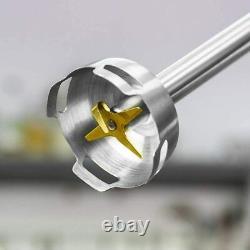 Cecotec Blender Main Puissant Titanium 1000 Pro. 1000 W 21 Niveaux Et Turbo