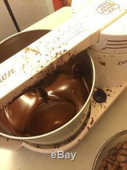 Cocoatown Melanger Chocolat Refiner Conche Moulin Pierre Noix Beurre De Cacao -220v