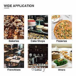 Commercial 10 Qt Mélangeur De Pâte Électrique Mélangeur D'aliments Avec Bol De Mélange En Acier Inoxydable