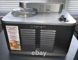 Cuisinart Commercial Ice Cream Maker Batch Freezer (ice-50bc) Acier Inoxydable