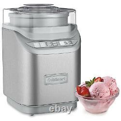 Cuisinart Ice-70 Electronic Ice Cream Maker, Chrome Brossé