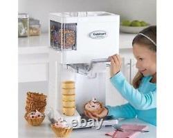 Cuisinart Ice Cream Maker Machine Soft Serve Dispenser Home Kids Sorbet Sherbert