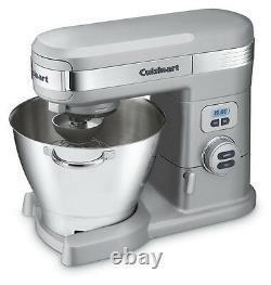 Cuisinart Sm-55bc 5-1/2-quart 12-speed Stand Mixer, Chrome Brossé